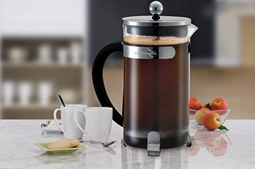 Lagostina French Press Coffee 8-Cup,