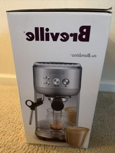 the bambino stainless steel espresso maker