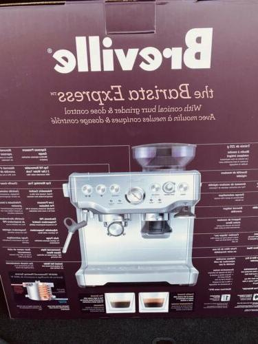 Breville® The BES870XL Espresso Stainless Orig::$699.00