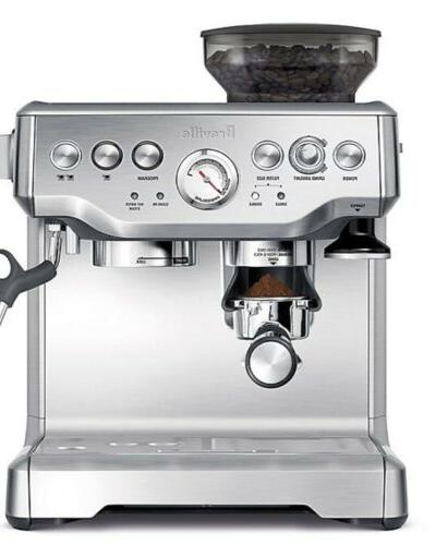 the barista express bes870xl espresso stainless steel