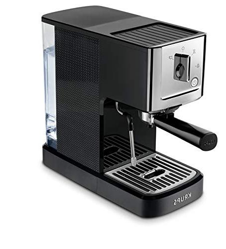 KRUPS XP344C51 Calvi And Espresso Machine Coffee Maker, 1-Liter,