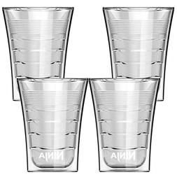 Ninja 14 Oz Microwave Safe Plastic Double Insulated Cup for