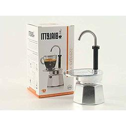 Bialetti Mini Express 1-Cup Stovetop Percolator NEW