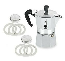 Bialetti® Moka Express #06799 3-Cup Espresso Maker Machine