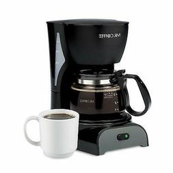 Mr. Coffee 4 Cup Switch Filter New Black Coffeemaker  Open B
