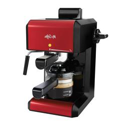 Mr. Coffee Cafe Automatic Red Espresso Cappuccino Frother La