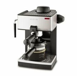 Mr. Coffee ECM160-NP 4 Cups Semi-Automatic - Black/Stainless