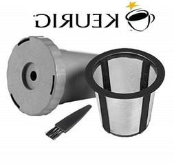 My K-Cup Reusable Filter, Housing, Brush for Keurig Coffee K