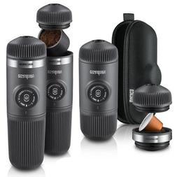 Wacaco NANOPRESSO Espresso Coffee Machine, NS Adaptor, Baris