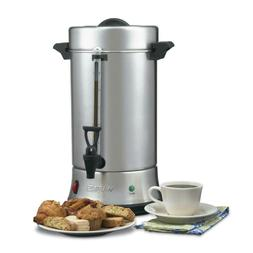 New Waring Commercial Stainless Steel Coffee Urn 55 Cup  Ban
