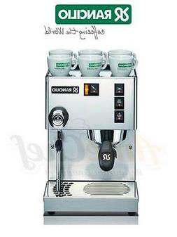 New Espresso Coffee Machine, Made in Italy, Rancilio Silvia
