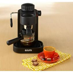 new espresso machine 4 cup electric cappuccino