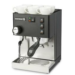 New Rancilio Silvia Stainless Steel Espresso Machine -Black
