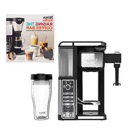 Ninja Single Serve Coffee Bar Machine with Recipe Book