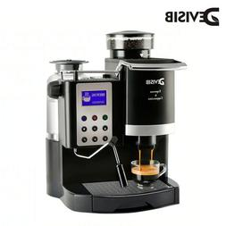 Professional Espresso  Coffee Maker with Grinder Automatic A