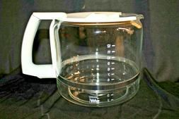 Krups Replacement 12 Cup Glass Coffee Carafe w/ Lid ProAroma