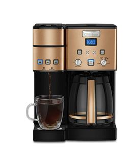 Cuisinart SS-15CP 12 Cup Coffee Maker and Single-Serve Brewe
