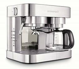 Espressione Stainless Steel Machine Espresso and Coffee Make