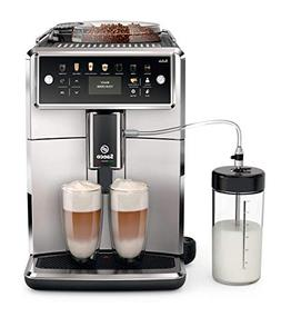 Saeco super-automatic espresso coffee machine with an adjust