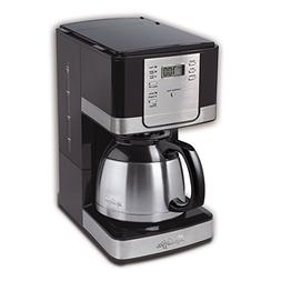 8-Cup Thermal Coffeemaker, Black - Mr. Coffee - JWTX95
